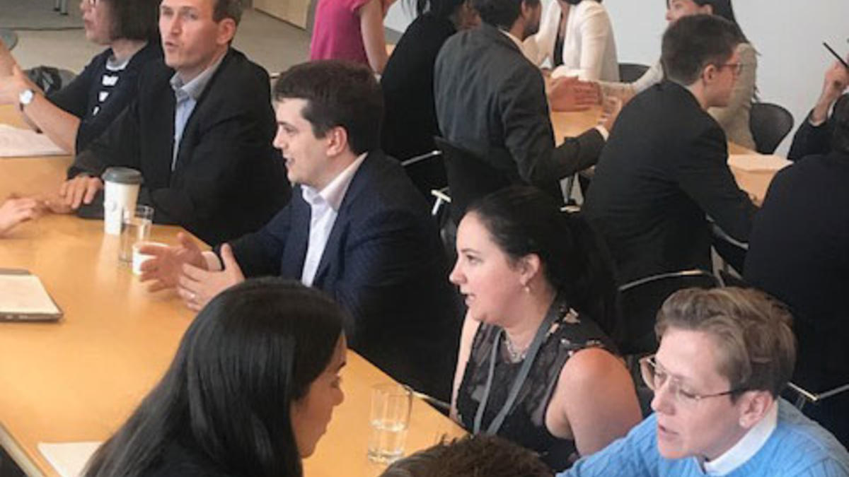 Photo - Montréal Summer Students Event – Speed-Mentoring
