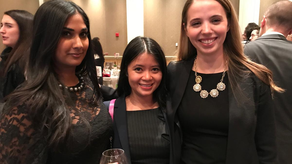 ARTICLING STUDENTS AT THE WOMEN IN LAW LEADERSHIP AWARDS