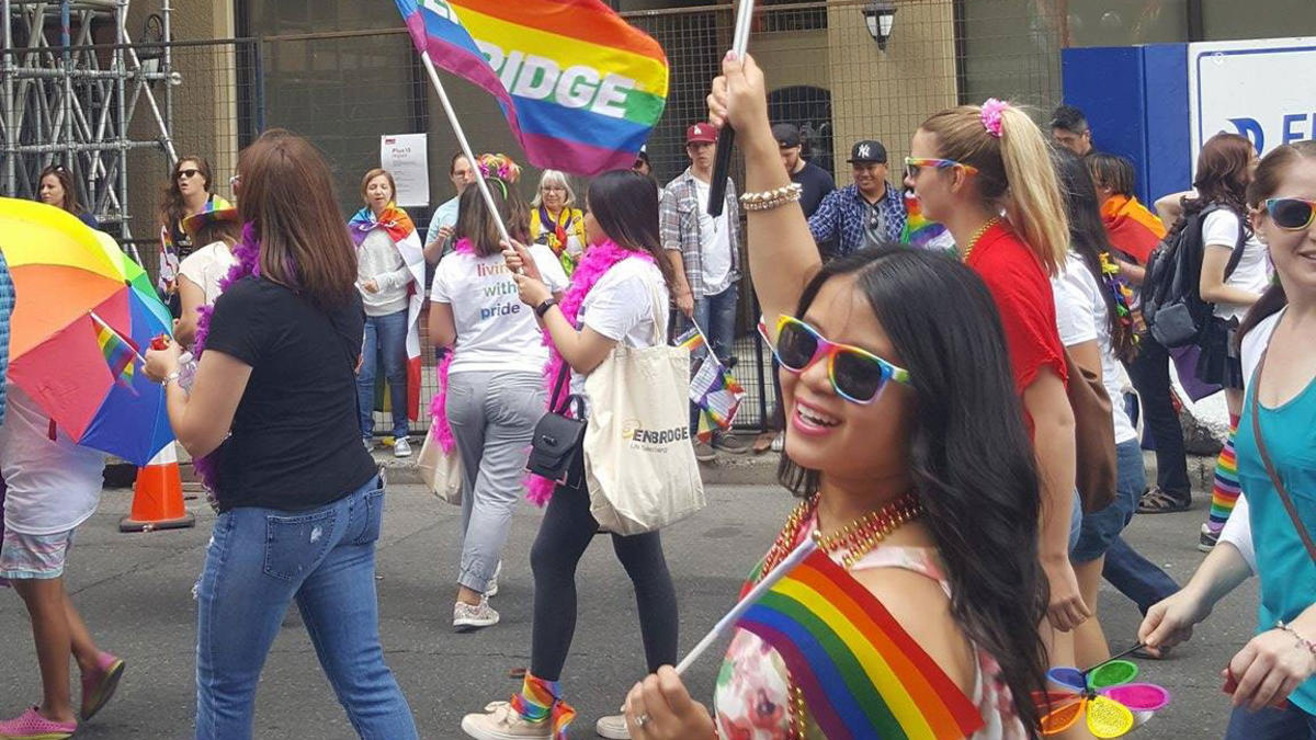 ARTICLING STUDENTS AT CALGARY'S PRIDE PARADE
