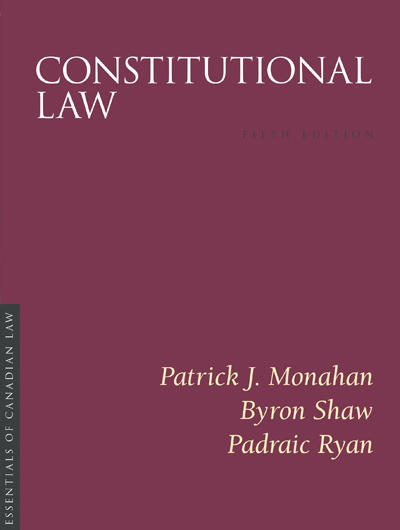 Constitutional Law, 5th Edition Book Cover