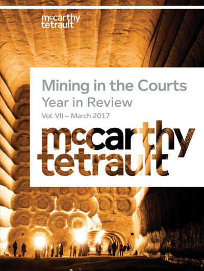 Mining in the Courts Book Cover