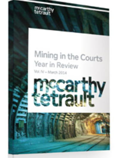 Mining in the Courts 2015 Book Cover