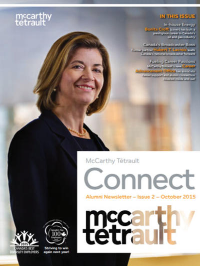 McCarthy Tétrault Connect Issue 2 Cover