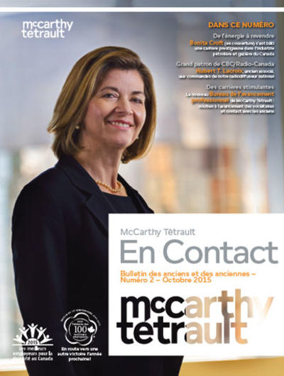 McCarthy Tétrault Connect # 2 cover