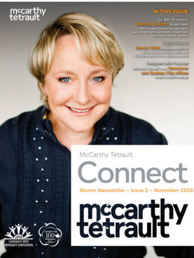 McCarthy Tétrault Connect Issue 3 Cover