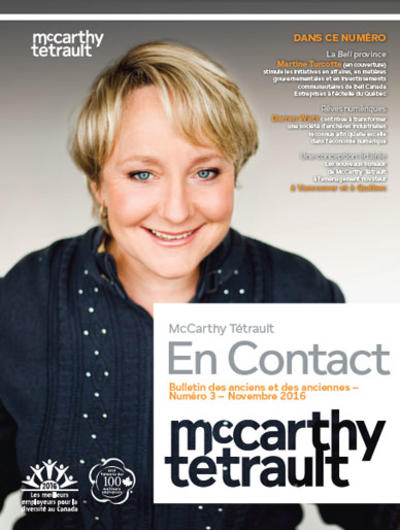 McCarthy Tétrault Connect # 3 cover