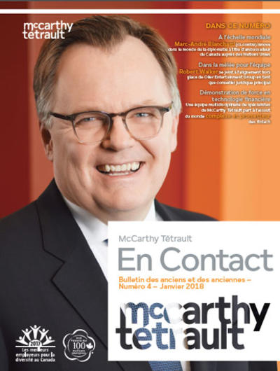 McCarthy Tétrault Connect # 4 cover