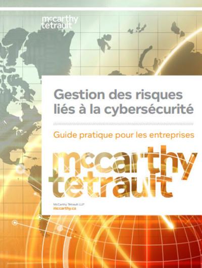 Gestion des risques liés à la cybersécurité Cover Image