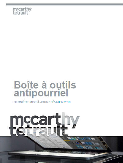 Boîte à outils antipourriel (couverture)