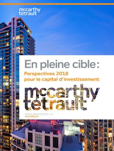 En pleine cible : Perspectives 2018 pour le capital d'investissement - Couverture