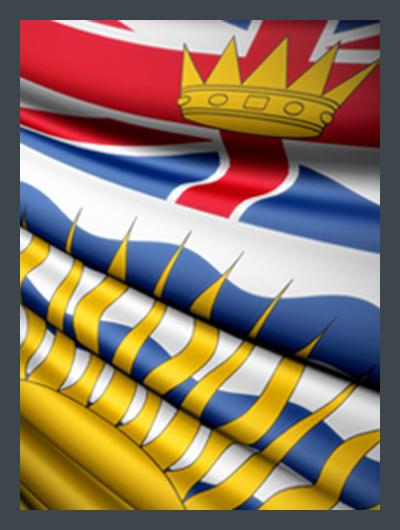 Drapeau British Columbia Flag