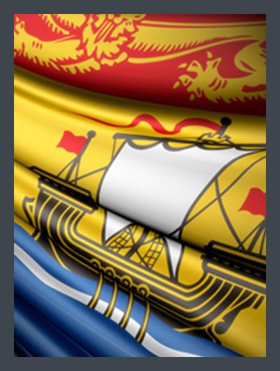 Drapeau New Brunswick Flag