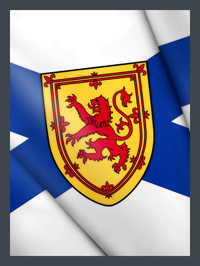 Drapeau Nova Scotia Flag