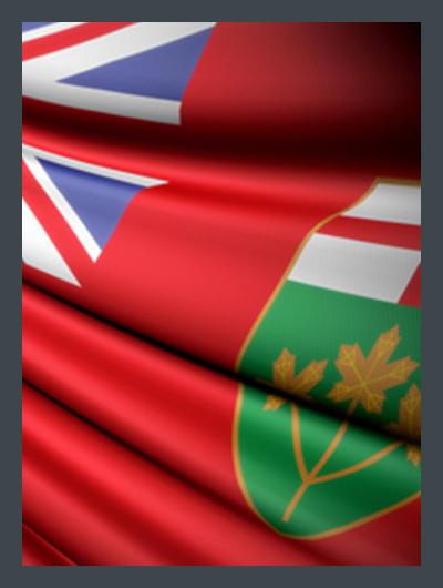 Drapeau Ontario Flag