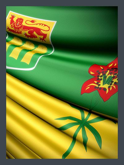 Drapeau Saskatchewan Flag