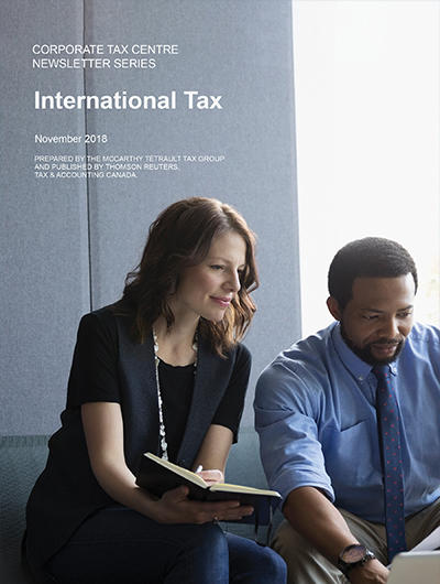 Cover for International Tax Review