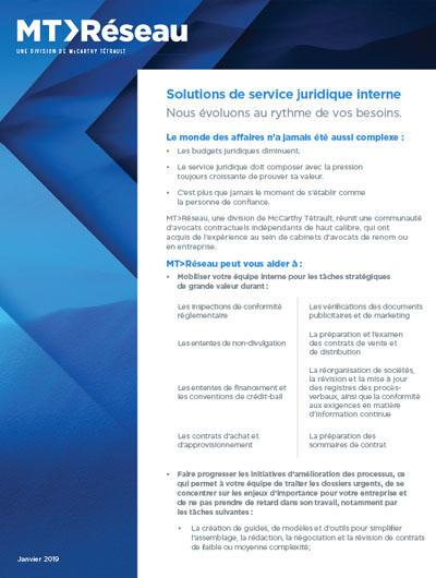 In-House Infosheet Cover