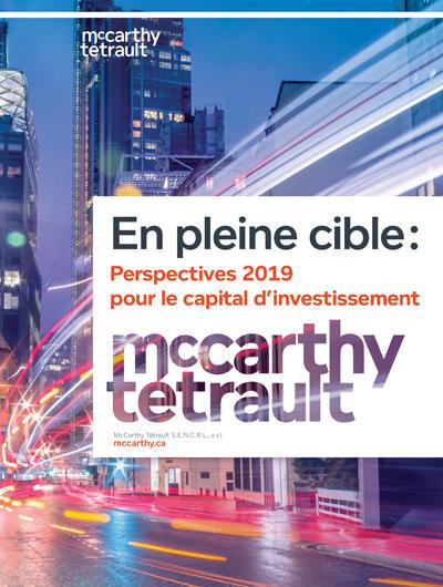 En pleine cible : Perspectives 2019 pour le capital d'investissement