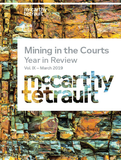 Mining the Courts Cover Image