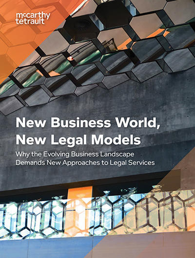 New Business World, New Legal Models Cover Image