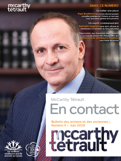 McCarthy Tétrault Connect issue 5 Cover Image