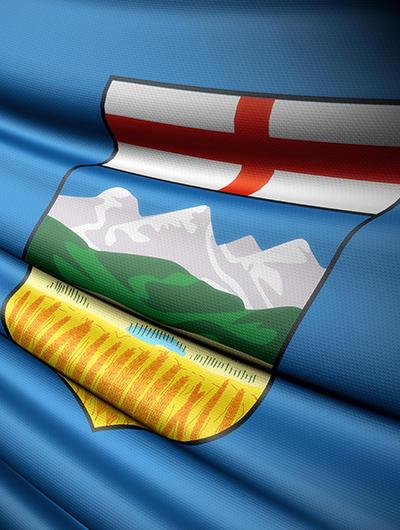 Flag Alberta