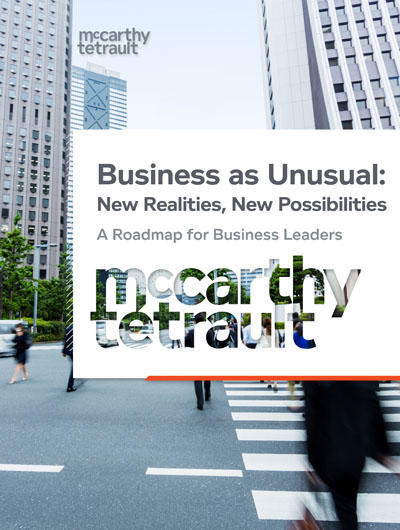 Business as Unusual: New Realities, New Possibilities- A Roadmap for Business Leaders