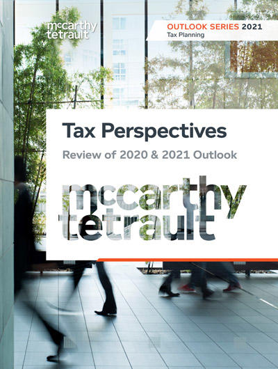 Tax Perspectives: Review of 2020 & 2021 Outlook