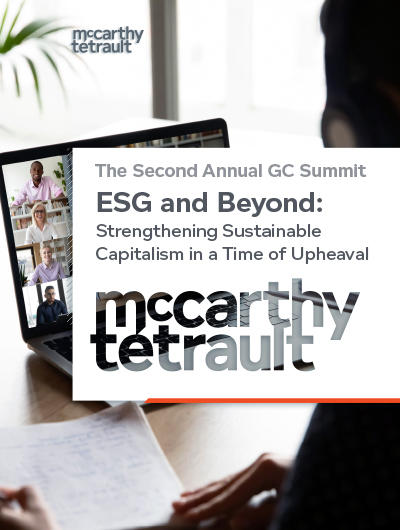 ESG and Beyond: Strengthening Sustainable Capitalism in a Time of Upheaval