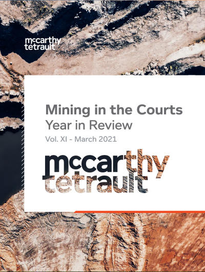Mining in the Courts, Vol. XI