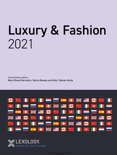 Luxury & Fashion 2021 guide (Canada) – Lexology